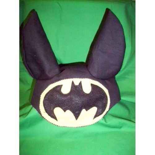 Bat man Fancy dress hat for Ponies made by Nytack-500×500