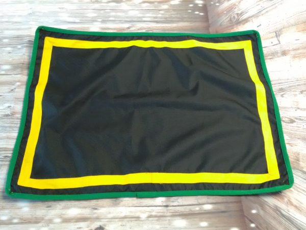 Black and Emerald green stable guard