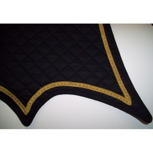 Double pointed Military Sddlecloth-500×500