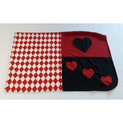 Queen of Hearts PonyFancy Dress-500×500