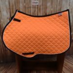 tangy orange close contact saddleccloth
